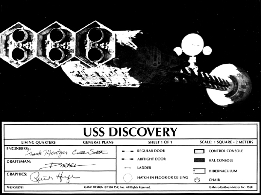 Discovery Deck Plans Star Frontiers